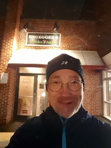 Brueggers in the snow, Andy Nagelin