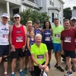 Melrose Running Club at 2019 Malden Irish American Road Race