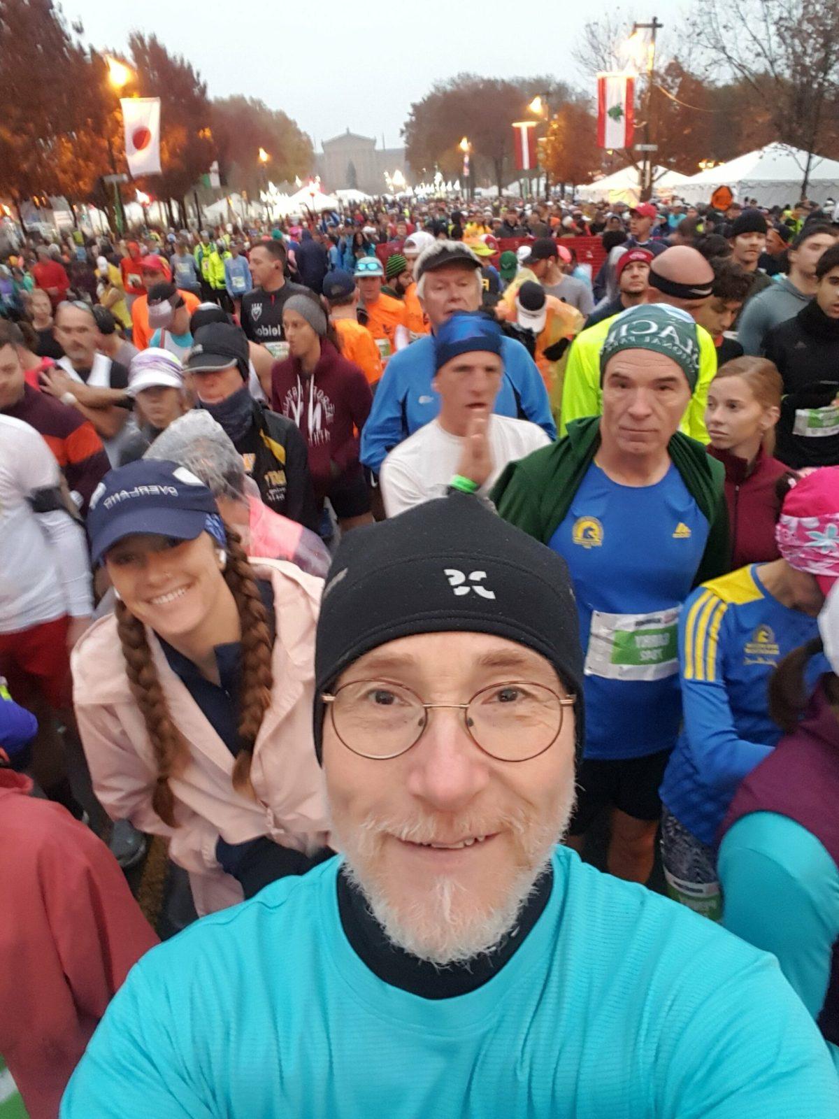 I got photo crashed at The Philadelphia Marathon 2019