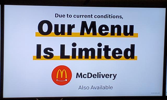 McDonald's, Corona Virus