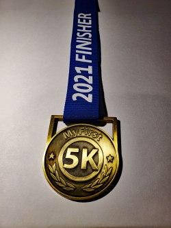 runners 1st medal, medal for new runners