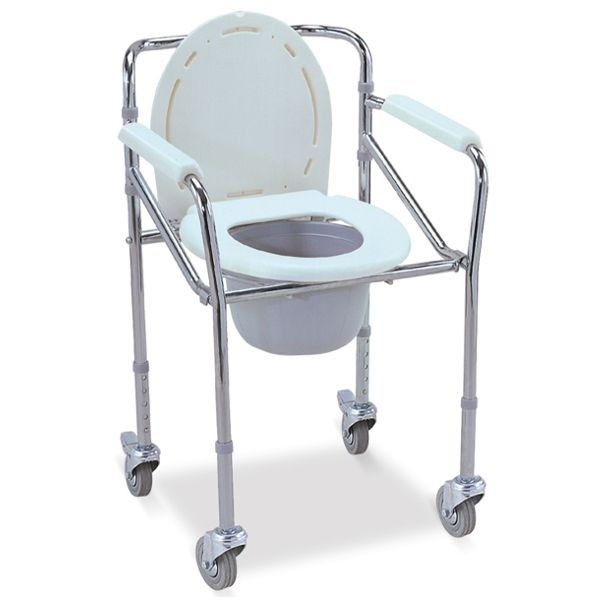 Commode Chair   With Wheels   Omnisurge Medical Supplies Commode Chair   With Wheels