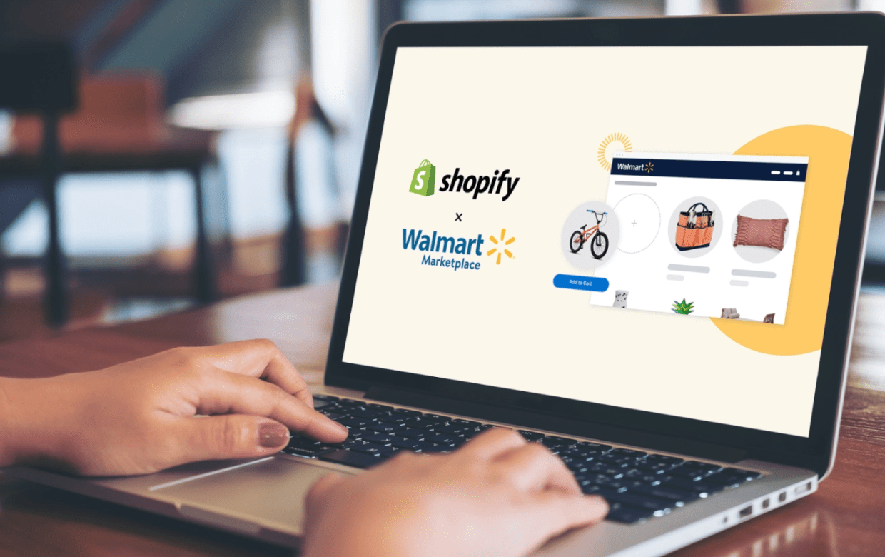 Shopify partners with Walmart, Staples offers on-demand delivery with Instacart, Walmart tests self-checkout only location