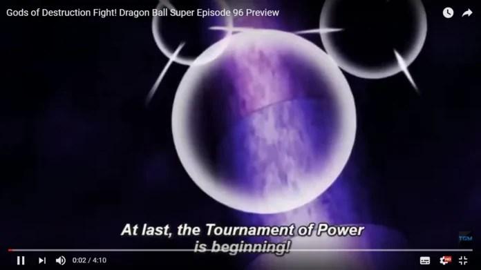 Goku's new attack