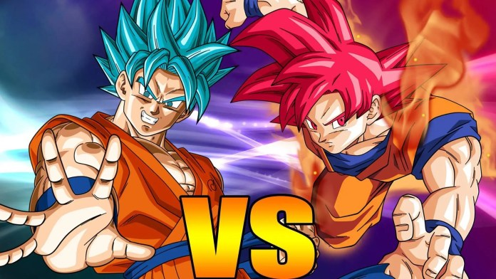 Dragon ball super difference between the super saiyan god and blue who had effortlessly defeated super saiyan 3 goku ultimate gohan majin buu super saiyan 3 gotenks and a super charged super saiyan 2 vegeta thecheapjerseys Images