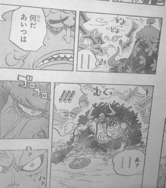 One Piece Chapter 923 Official Raw
