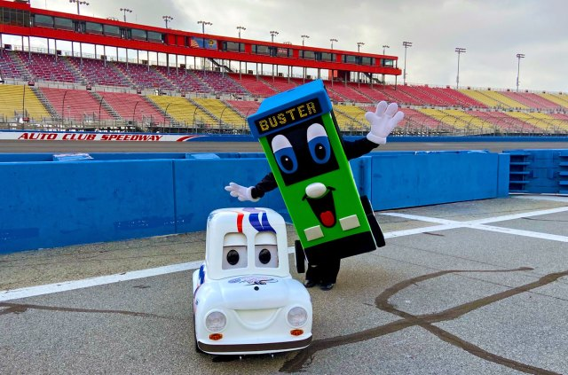 Buster at Auto Club Speedway