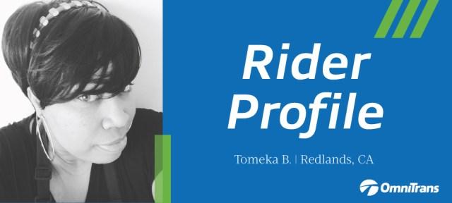 Tomeka B. rider profile