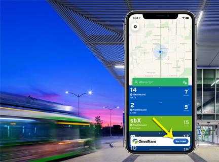 Transit app fares