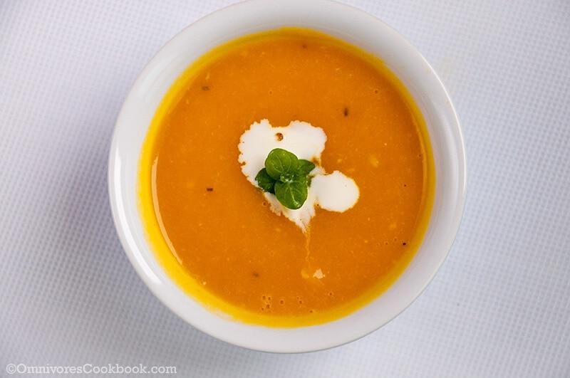 easy pumpkin soup omnivore s cookbook