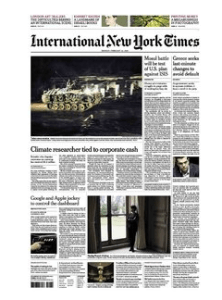 International New York Times Feb 23