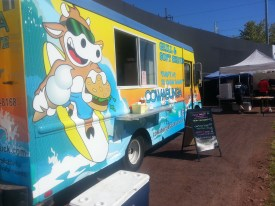 Cowabunga Food Truck at Harbor Brewfest 2013