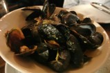 Just one of 5 different mussel varieties up for munching