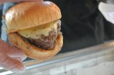 Plan B Burger, winning burger at Burger Battle 2014 at Greenwich Wine & Food Festival