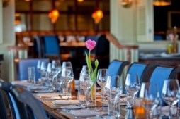 Dining room from Saybrook Point Inn
