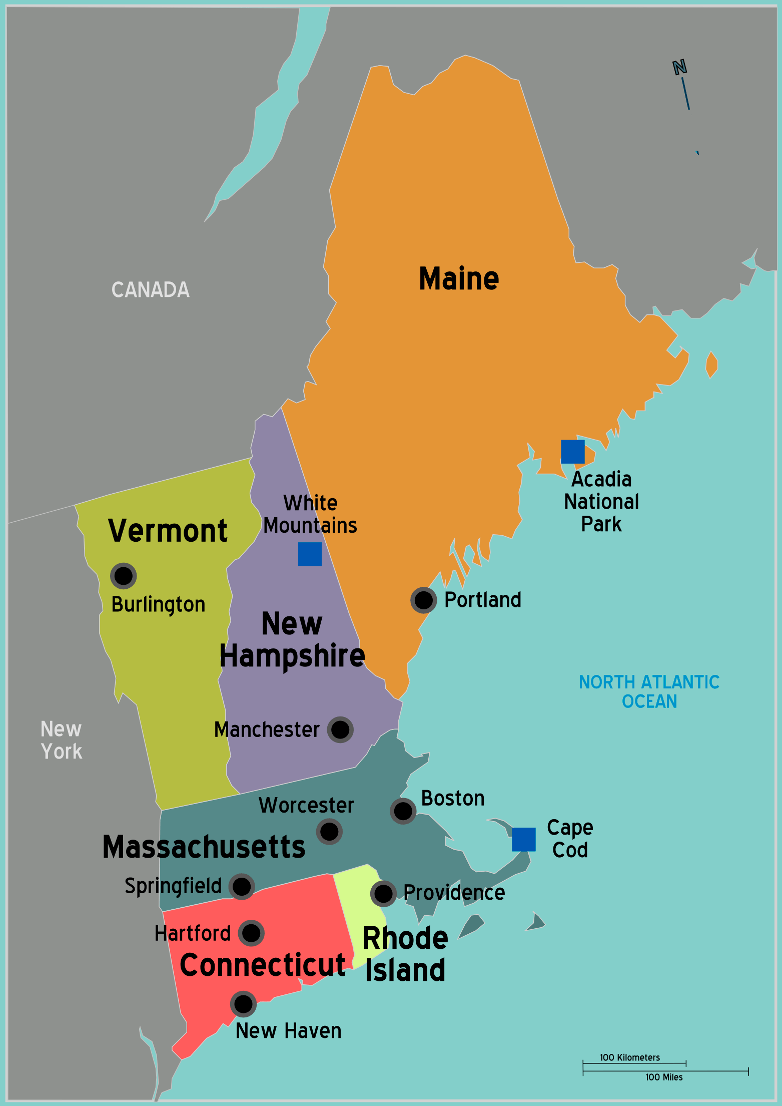 A Lesson On New England Geography And Beer For Boston