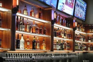 New Bourbon Beer Bar at Coalhouse Pizza in Stamford