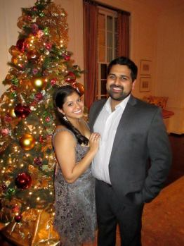 December 2012: Christmas with Chirag :)