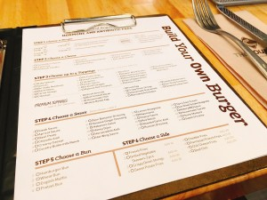 The Counter-Menu-Build your own burger