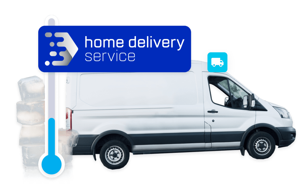 module home delivery service