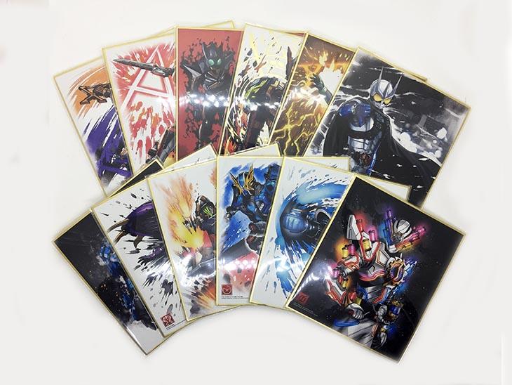 仮面ライダー色紙ART3