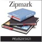 本にチャックが!?思わず二度見しちゃいそうな栞「Zipmark」
