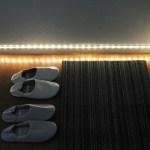 どこでも好きなところへ好きな長さだけ。人の動きで点灯するセンサー付きテープLEDライト「Bed Light」