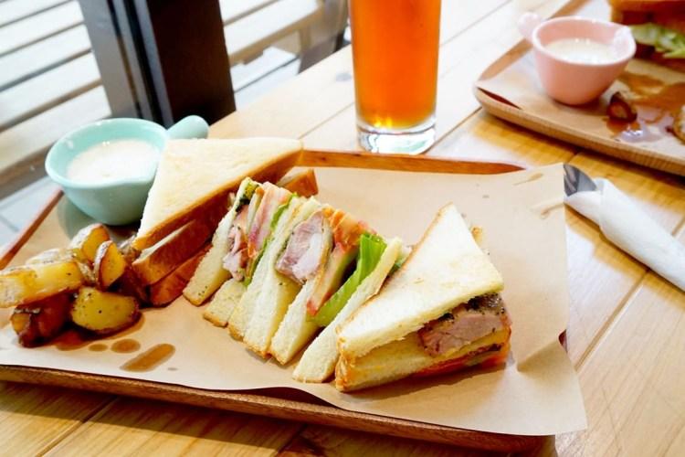 """【新北新店早午餐】ONCE AGAIN CAFE 再來咖啡    捷運大坪林站""""文青風咖啡館"""