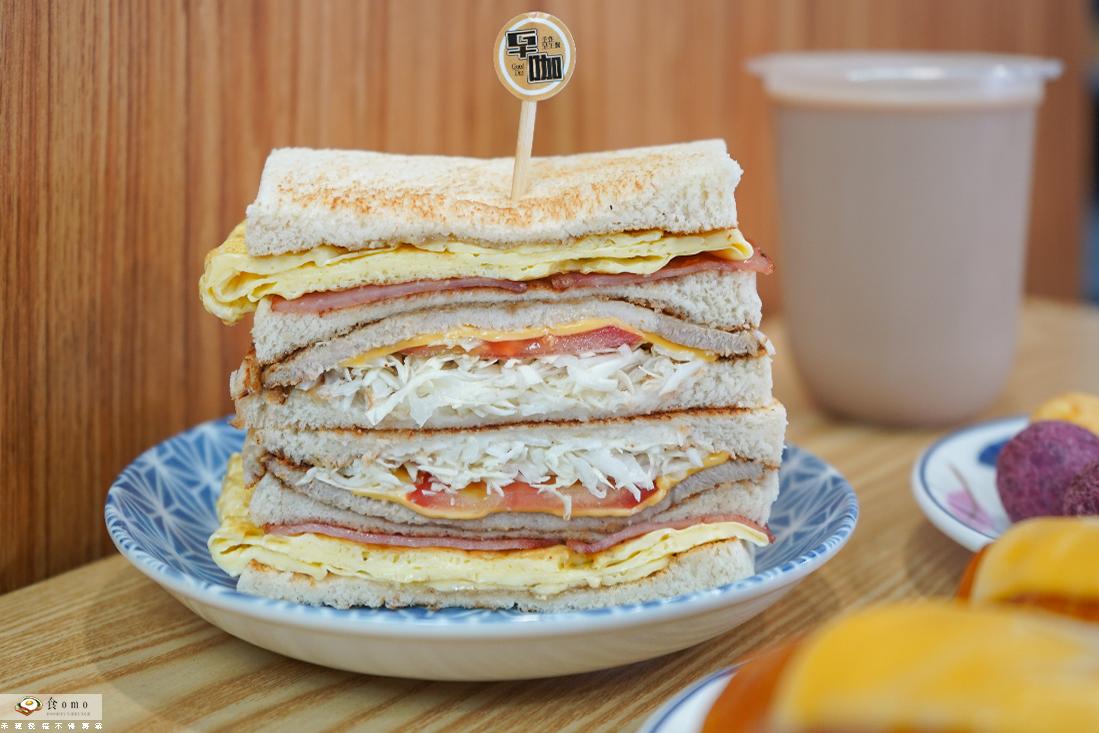 """【高雄仁武早午餐】早咖手作早午餐    打拋諸酥皮蛋餅x總匯吐司""""高CP值早午餐"""