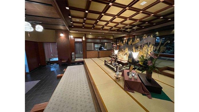 武蔵野別館 箱根 入り口