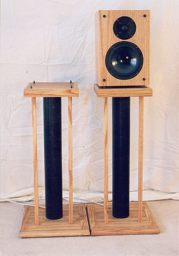 Philip Jackson S Hifi Diy Project Speaker Stands Page