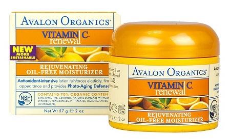 Avalon Organics Vitamin C Rejuvenating Oil-Free Moisturizer 2 oz_supplementcentral2