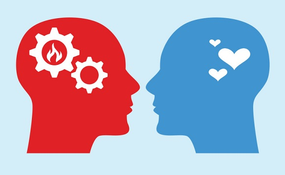 emotional-logical-brain-differences