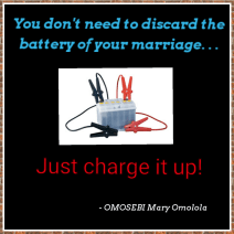 Charge the battery of your marriage