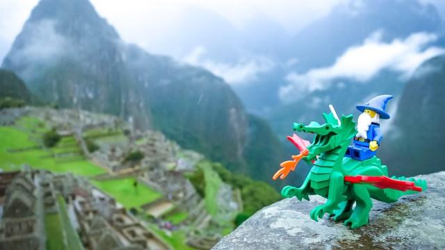 レゴお城シリーズのドラゴンマスター