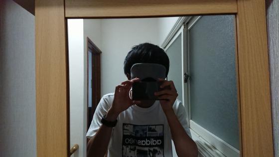 ホットアイマスク着用イメージ