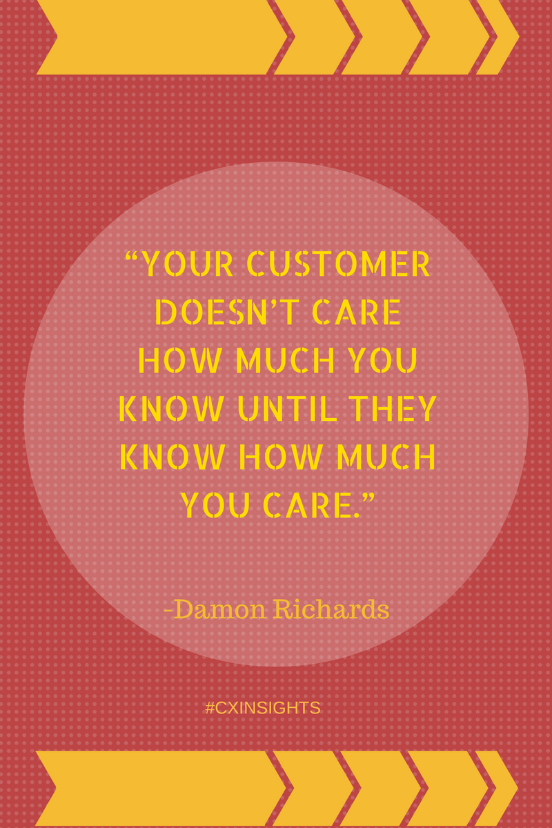 Work on customer feedback to show how much you care