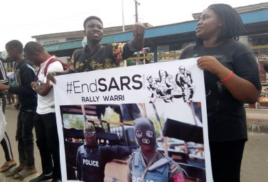 Sars demonstration