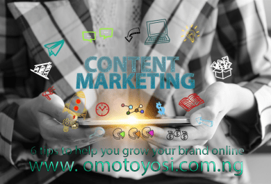 content marketing from omotoyosi writes