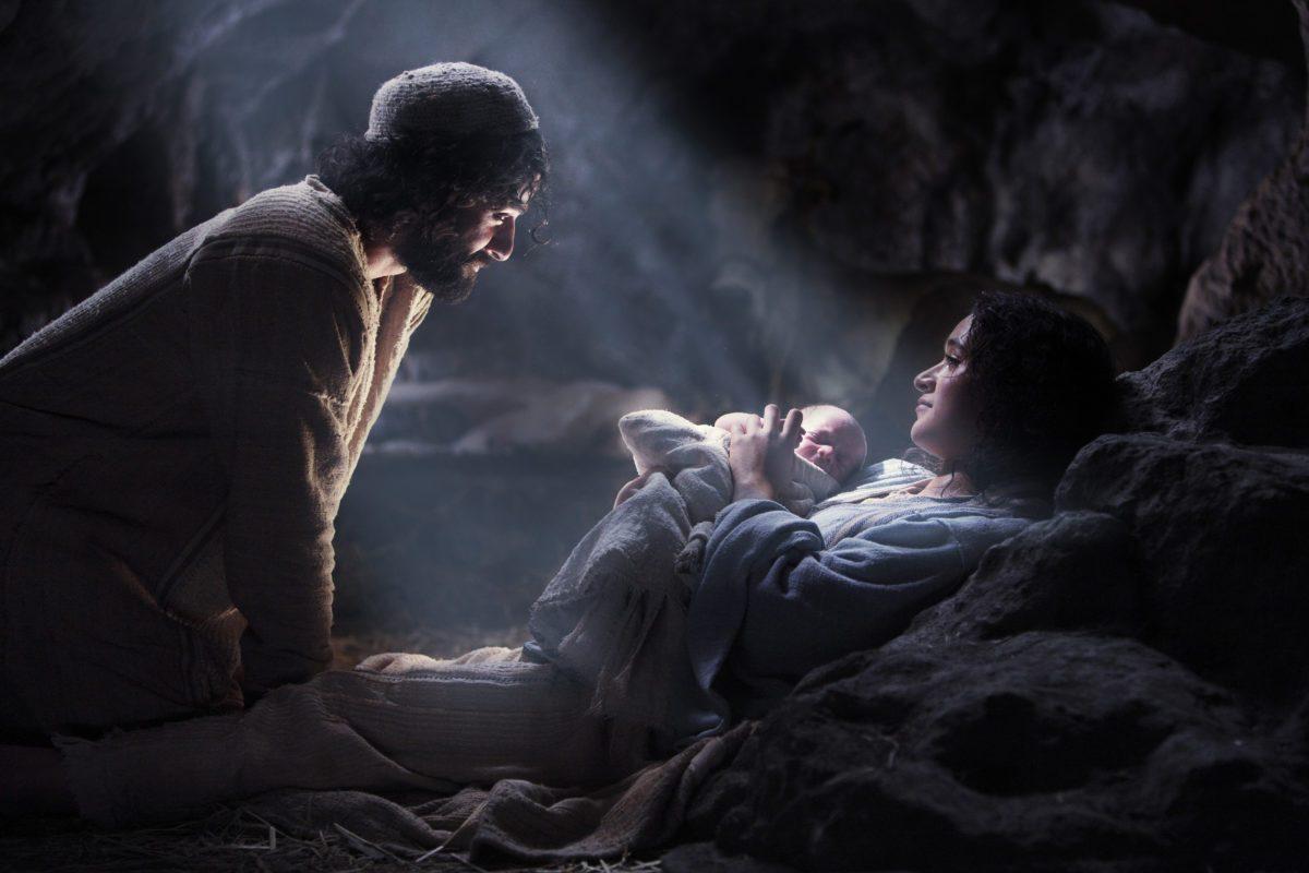 Joseph, Mary and Jesus