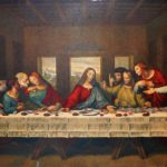 The bread and wine of the last supper