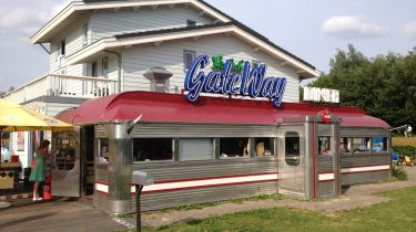 Gateway Diner-restaurant in het Beatrixpark in gaat veranderen in een pannenkoekenrestaurant.