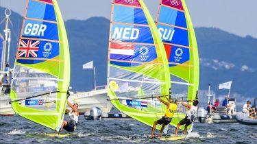 Olympisch goud voor windsurfer Badloe