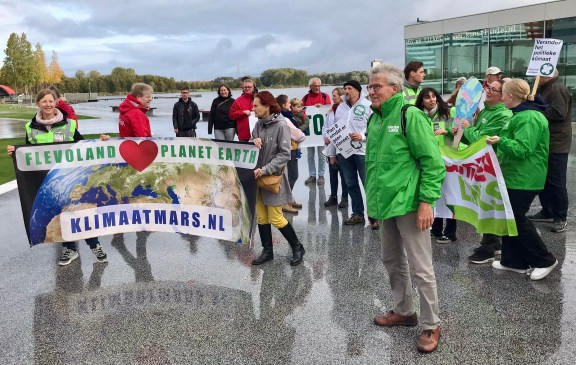 """""""Volgende halte: de landelijke Klimaatmars op 6 november"""""""