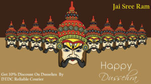 DTDC Courier Dussehra Offer