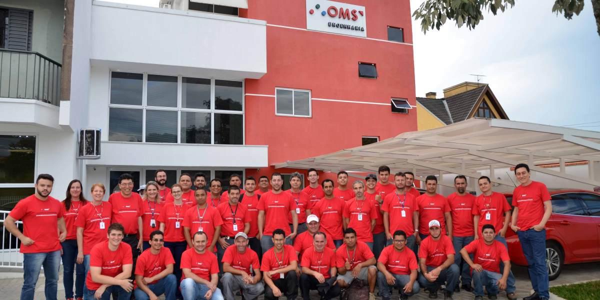 Empresa de engenharia elétrica em Curitiba é OMS!