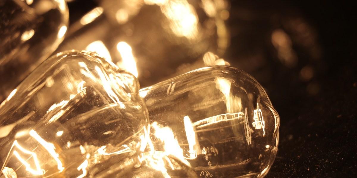 lâmpadas incandescentes