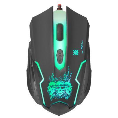 Мышь Defender Skull GM-180L Black USB