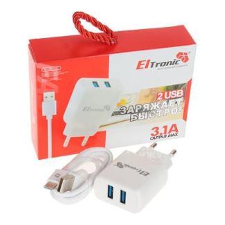 Зарядное Eltronic USB-разъём