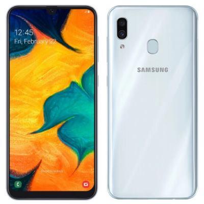 Samsung A30 белый